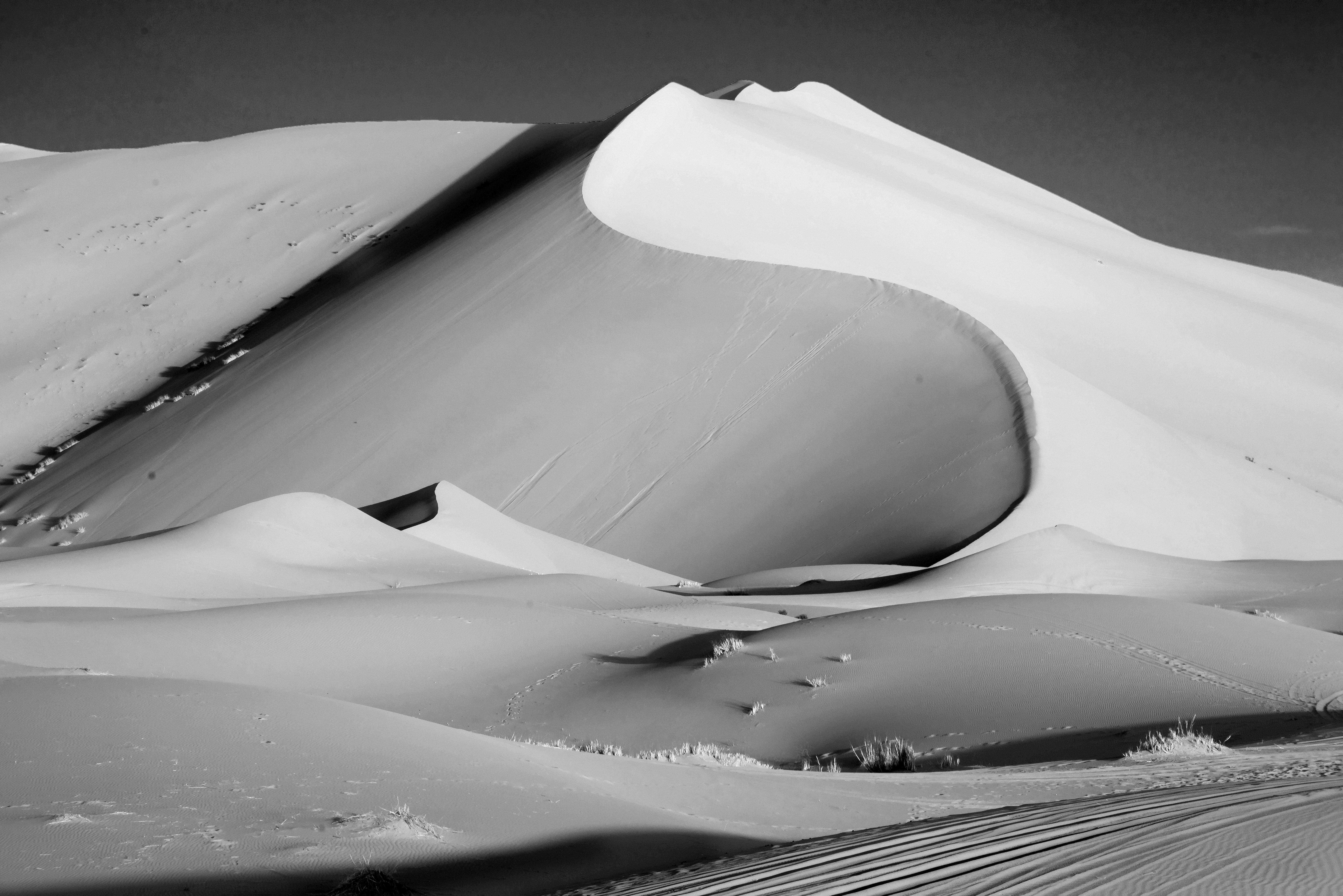 Dune nel Sahara
