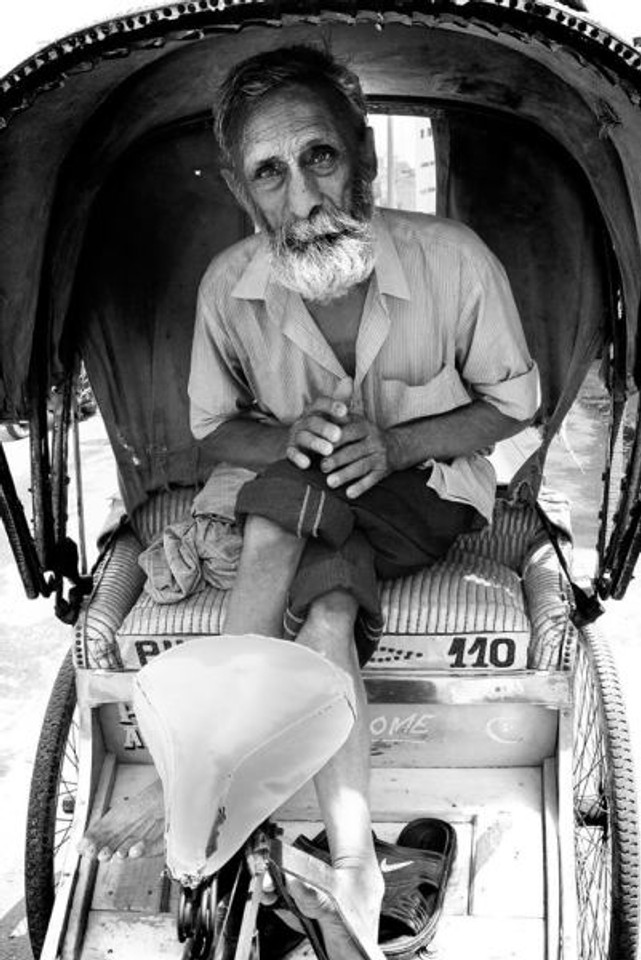 rikshaw - amritsar - india