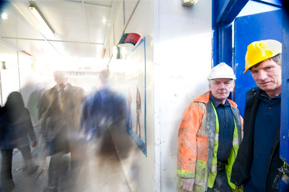 Tube - London - Workers