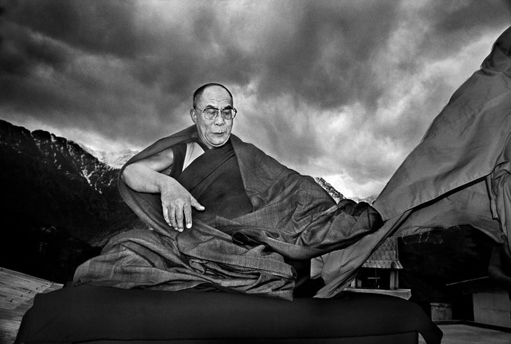 Dalai Lama in the Himalayas