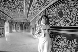 Il pittore nel palazzo