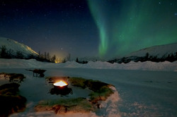 Aurora dal campo Sami