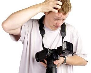 5 incubi dell'aspirante fotografo