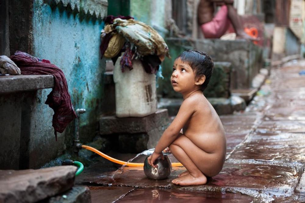 Bimba a Varanasi