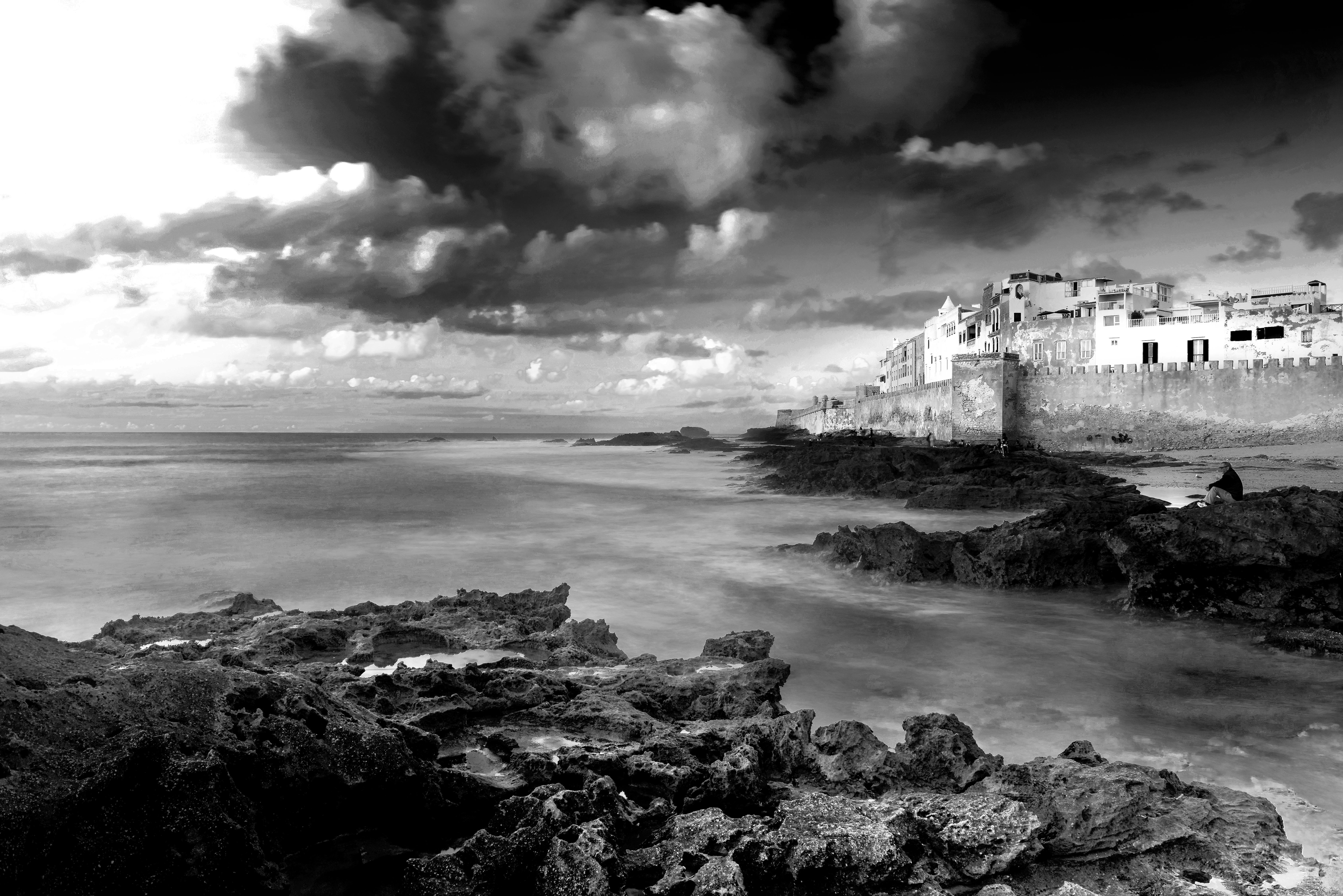 Tramonto sull'Atlantico (Essaouira)