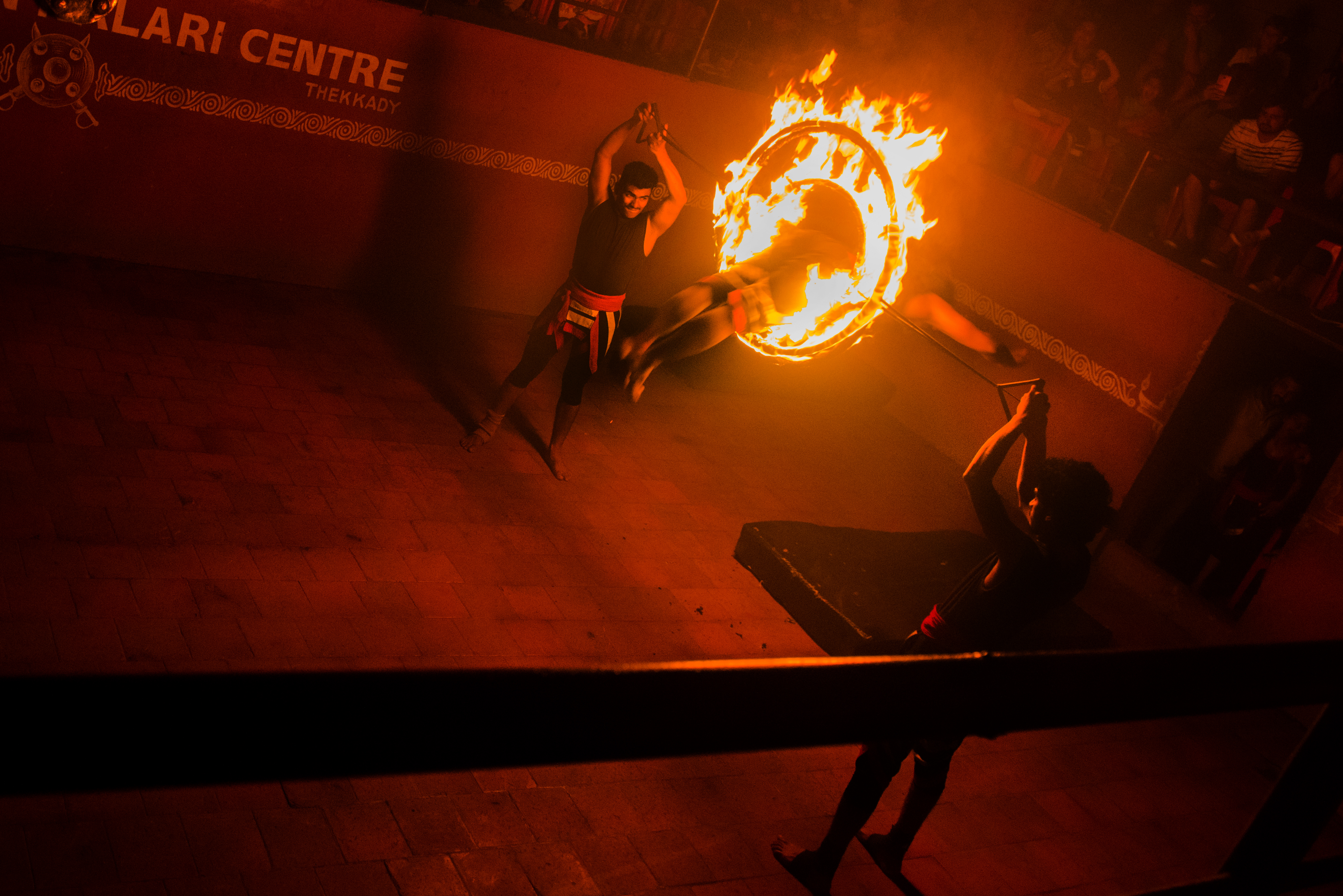 Nel cerchio di fuoco