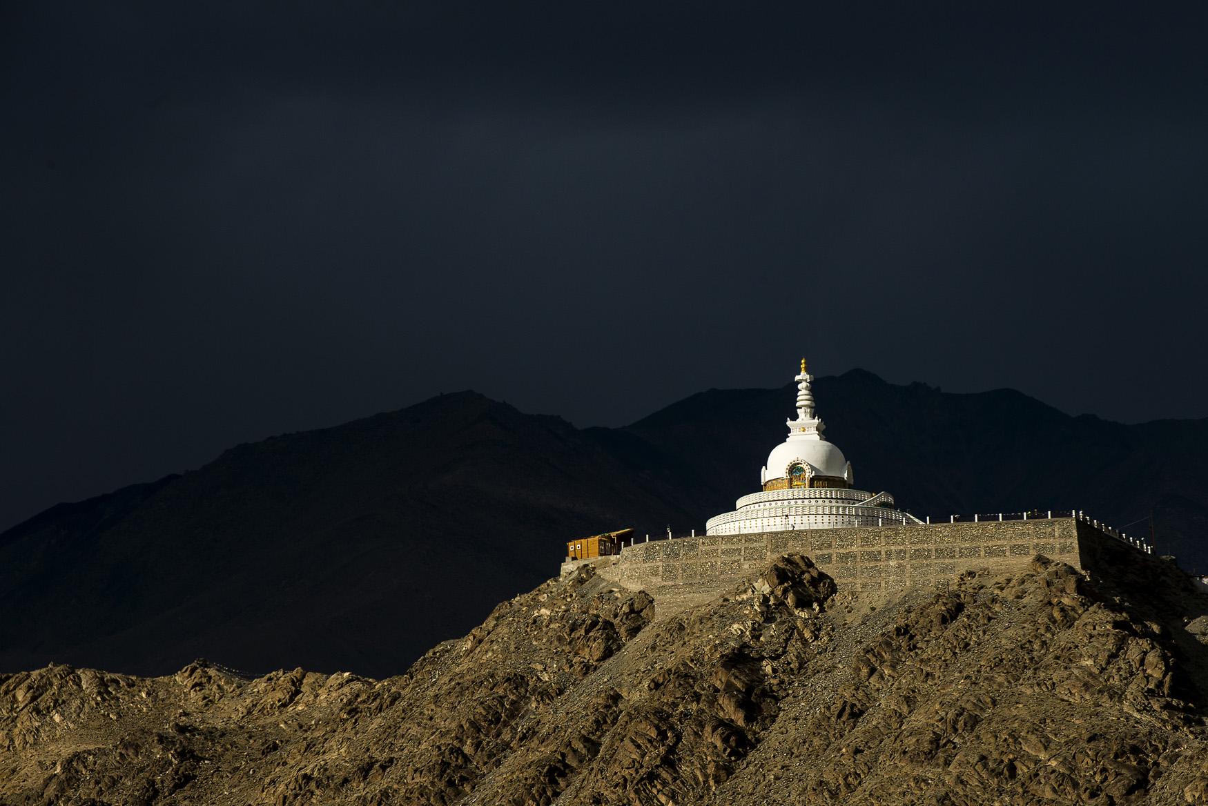 Lo Shanti Stupa