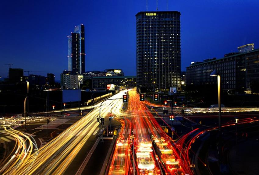 scie di luce - traffico