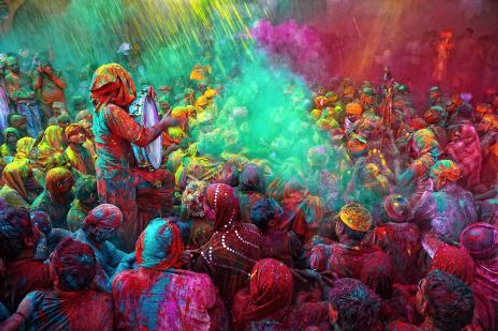 Viaggio fotografico in India - Holi