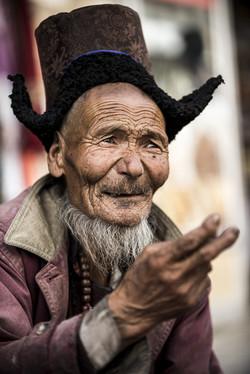 Il vecchio del mercato di Leh