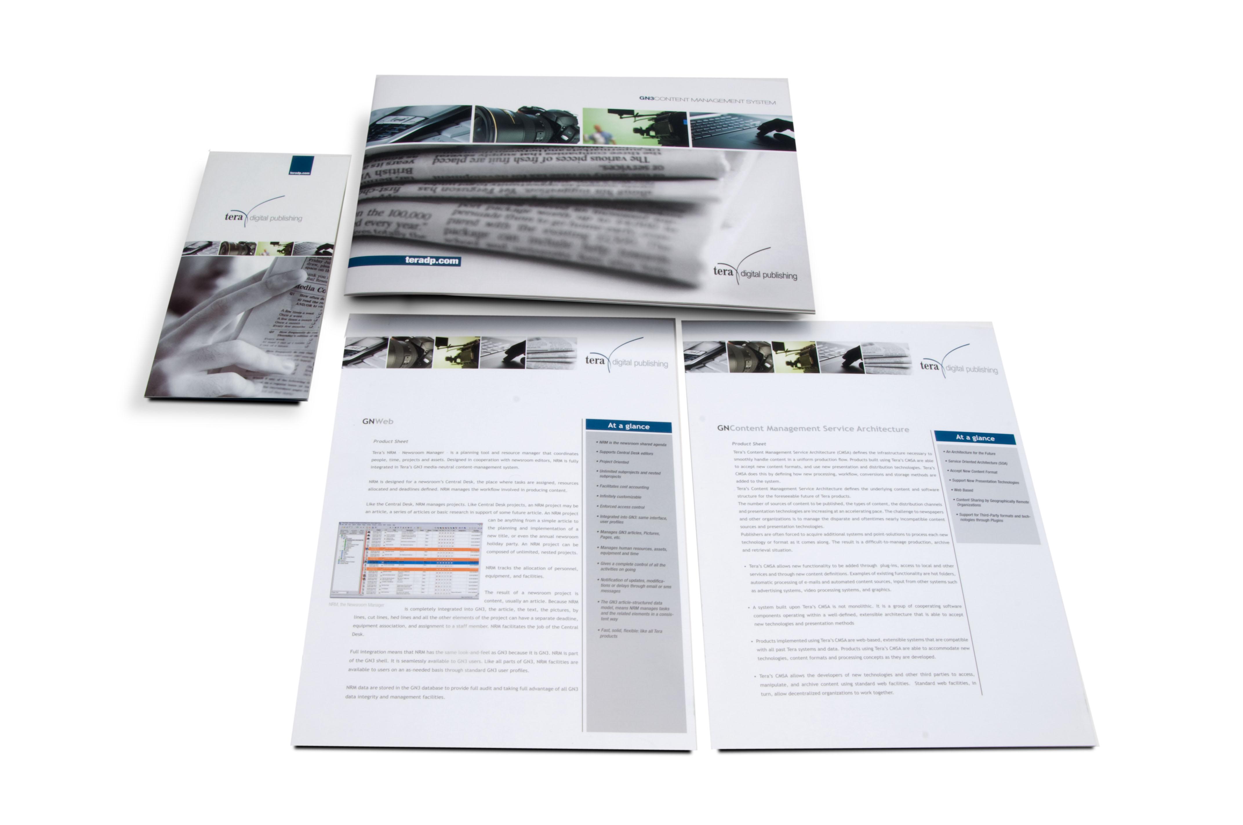 Kit di brochure