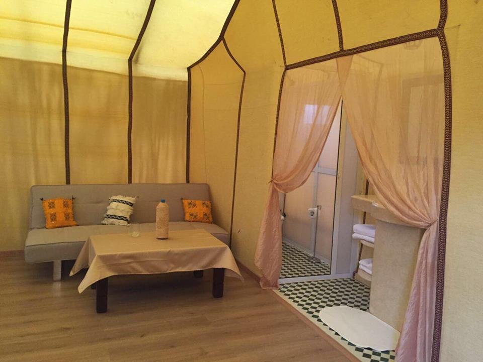 Nella tenda - Sahara