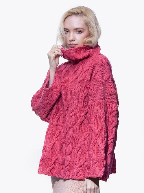 LOBITOS pink fisherman sweater