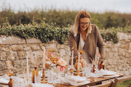 Harriet Jones Wedding Decor