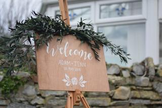 Wood Sign Wedding
