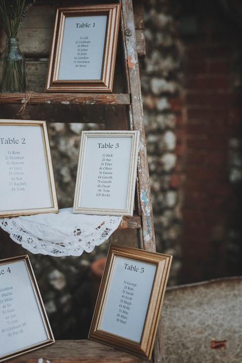 Custom Table Plan