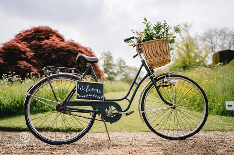 Vintage Bike and Basket