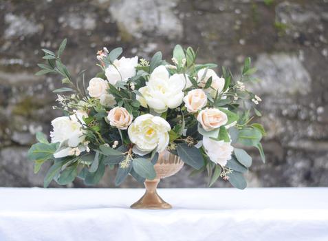 Pedestal Vases