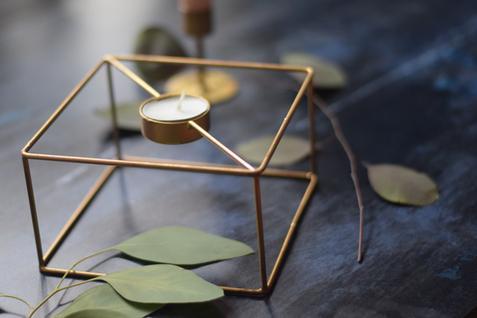 Geometric Tea Light Holders