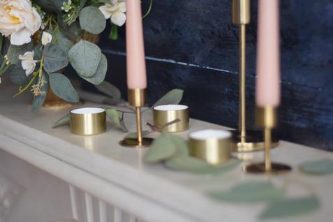 Brass Tea Light Holders
