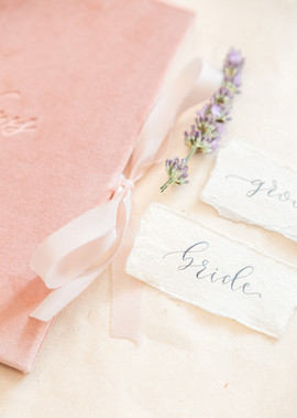 Flower or foliage for each place setting