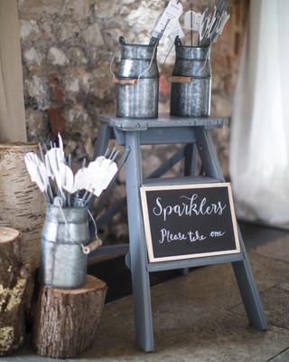 Sparkler Display