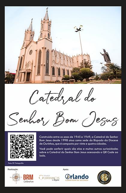 PLACAS TURÍSTICAS - Catedral do Senhor B