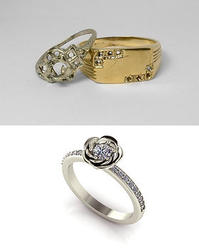 diamond redesign jewellery redesigned engagement recycle your and ring rings restyle