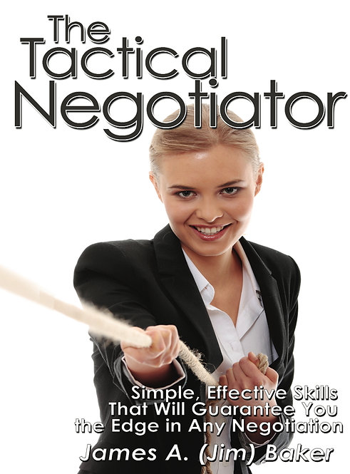 The Tactical Negotiator