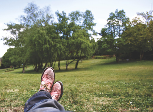 Tip#3 - Step outside-Wellbeing essentials for a more mindful, less reactive lockdown.