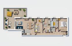 Essentiel - Plan appartement