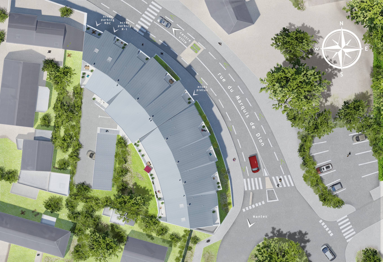 Projet Luméa - Plan de masse