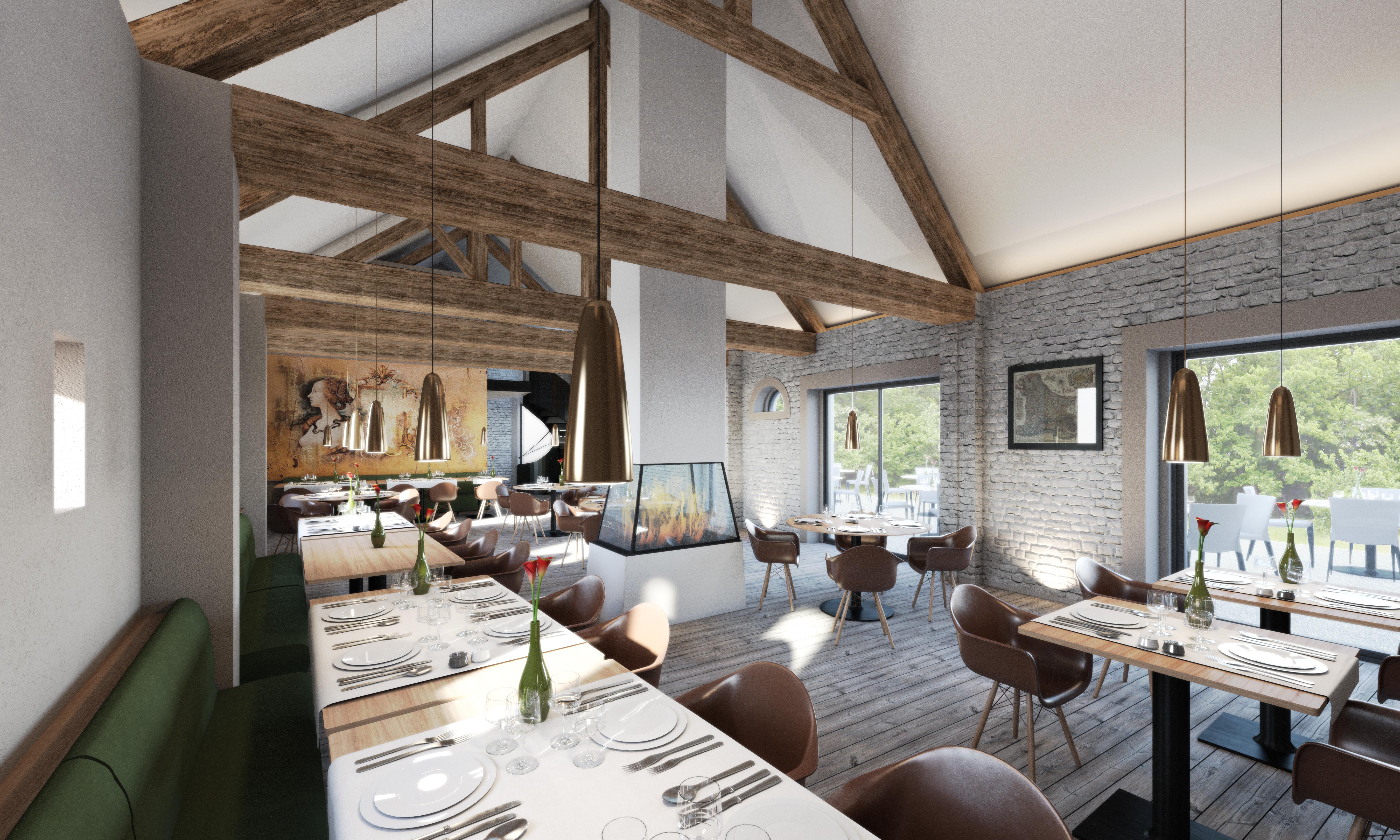 Concours Hôtel/Spa -  Vue restaurant