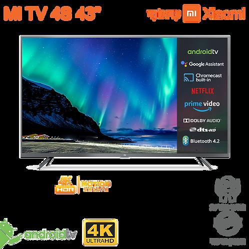 """טלוויזיה חכמה Xiaomi Mi LED TV 4K 43"""""""