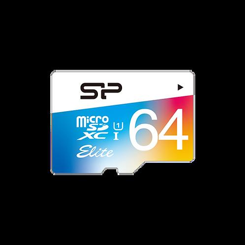 כרטיס זיכרון SP 64GB