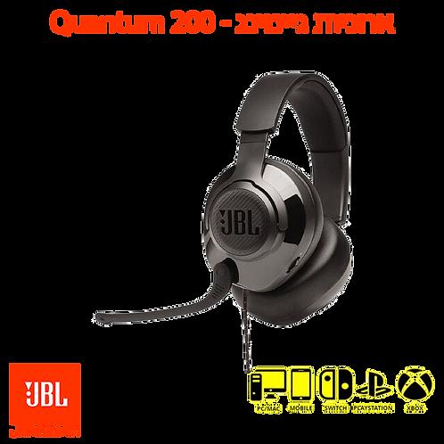 אוזניות חוטיות גיימינג JBL Quantum 200