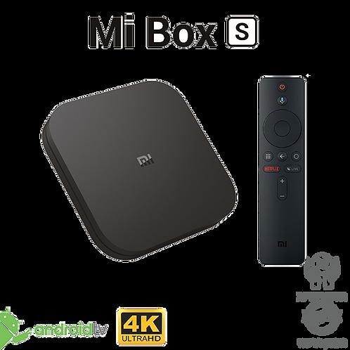 Mi Box S 4K סטרימר
