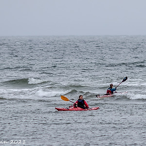 October Kayakers