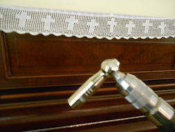Piano tuner spanner wrench