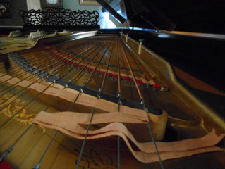 I admit it. My fingers begin to itch when I see a piano.