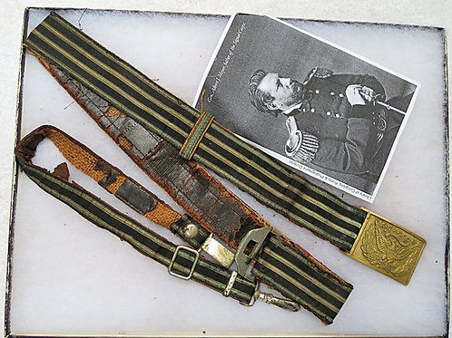 Civil War Officer's Dress Saber Belt Rig
