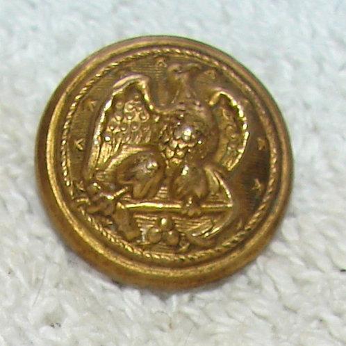 Navy Button:Vest size Late 1800s