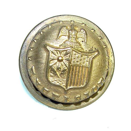 New York Coat Button:1870s-1880s Indian War era