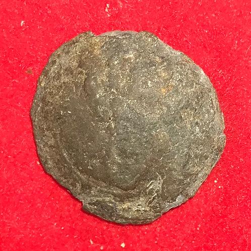Pewter South Carolina coat button