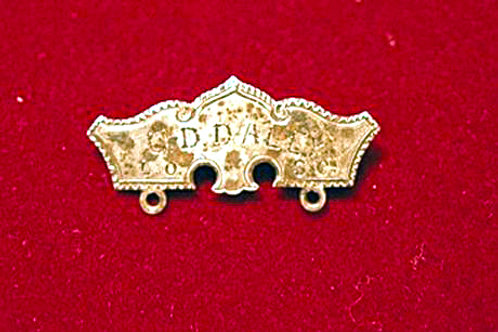 Silver Badge, 1800s