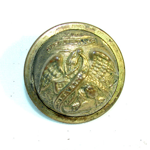 Illinois Staff Officers Coat Button Indian War