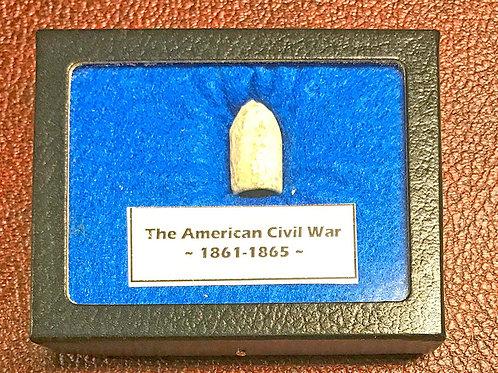 Civil War Bullet Hanging Display