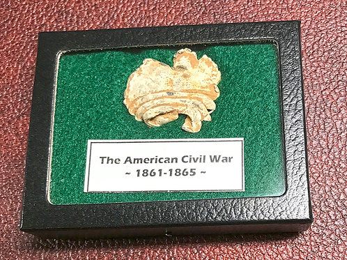 Close Combat, impacted Civil War Bullet Display