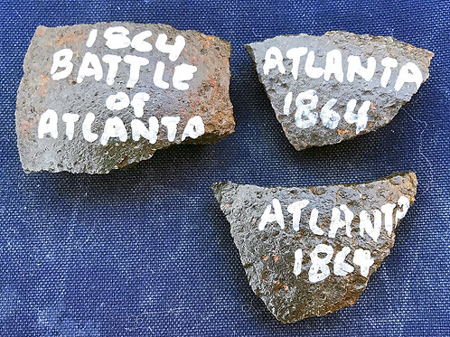"""Battle of Atlanta"" Artillery Fragments"