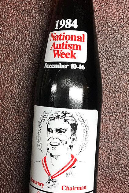 1984 National Autism Week Coke Bottle
